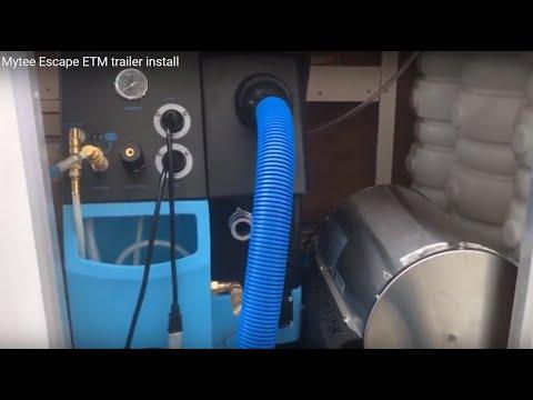 Mytee Escape ETM Trailer Install