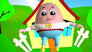 Шалтай-Болтай сидел на стене | 3D Рифмы | Songs For Kids | Kids Rhymes | Humpty Dumpty
