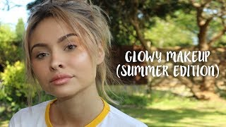 EVERYDAY SUMMER MAKEUP IN 10 MINUTES (NATURAL/GLOWY)