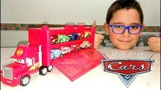 DISNEY CARS MINI RACERS - CAMION E SET MACCHININE - Leo Toys