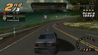 Need For Speed: Hot Pursuit 2 PS2 - PCSX2 1.4.0 - 1080p 60FPS Gameplay