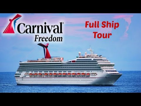 Carnival Freedom:  Full Ship Tour