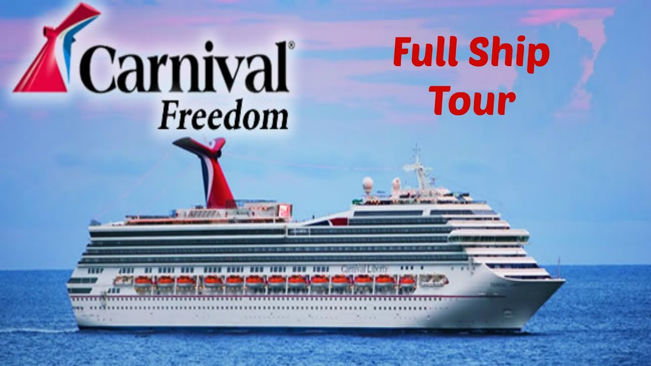 Carnival Cruise Freedom Ship Awesome  Punchaoscom