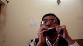 Hindi di song chhota sa ghar hoga on harmonica