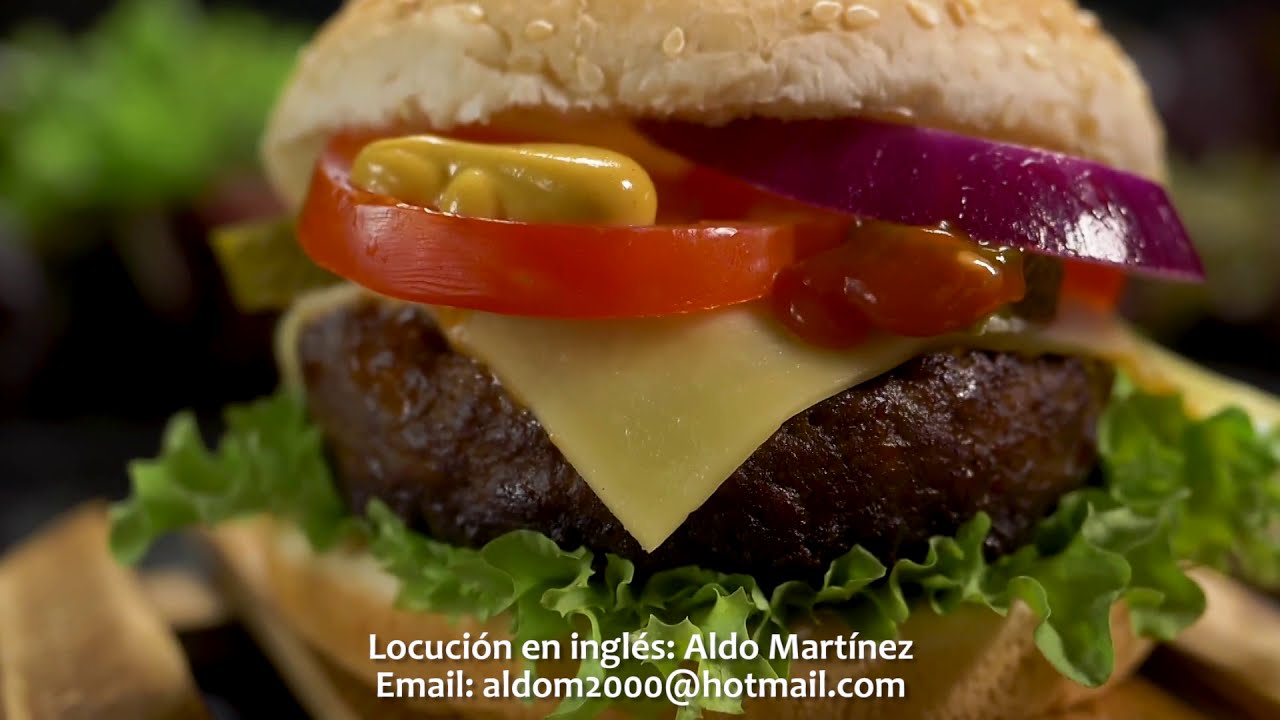 Download SUPER BURGERS COMMERCIAL (DEMO VOICE IN ENGLISH BY ALDO MARTINEZ)