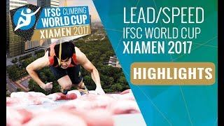 All the highlights from Lead & Speed finals at #IFSCwc Xiamen, wher...