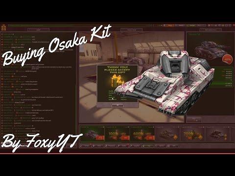 "Tanki Online | Tanker´s Day 50% Sale - Buying ""Osaka"" kit • By Foxy YT"