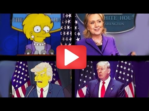 Thumbnail: TRUMP election PREDICTED by The Simpsons