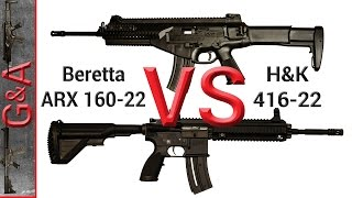 Video Beretta ARX 160 vs H&K 416 22 22lr download MP3, 3GP, MP4, WEBM, AVI, FLV Juli 2018