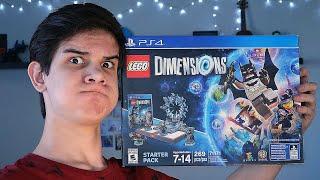 Распаковка LEGO Dimensions!