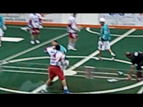 Six Nations Lacrosse Tim O'Brien vs Geoff Snider