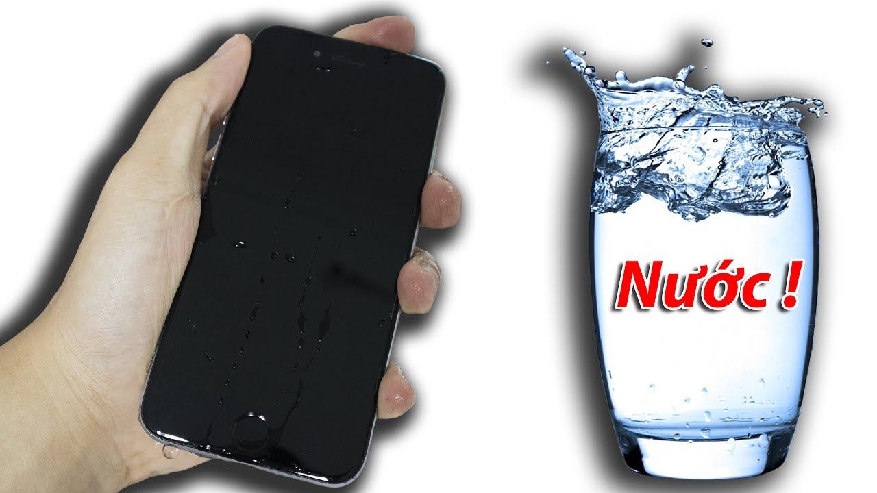 NTN – Thách Đố Thả Iphone Xuống Nước Và Cái Kết (Dipping iphone into water challenge)