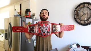 UNBOXING COMMEMORATIVE WWE (ZOO) UNIVERSAL CHAMPIONSHIP