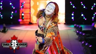 Asuka makes her entrance amid a sea of her followers: NXT TakeOver: Toronto: November 19, 2016
