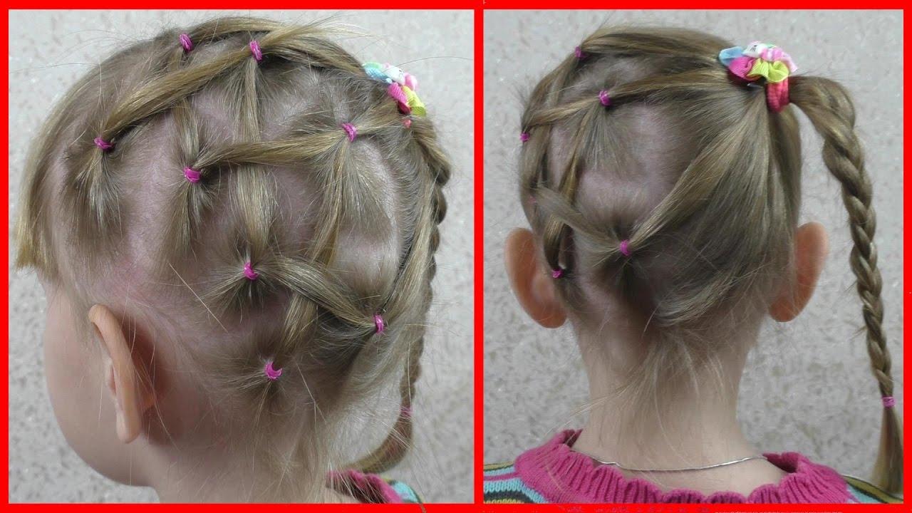 Прически для девочек.плетение кос 96