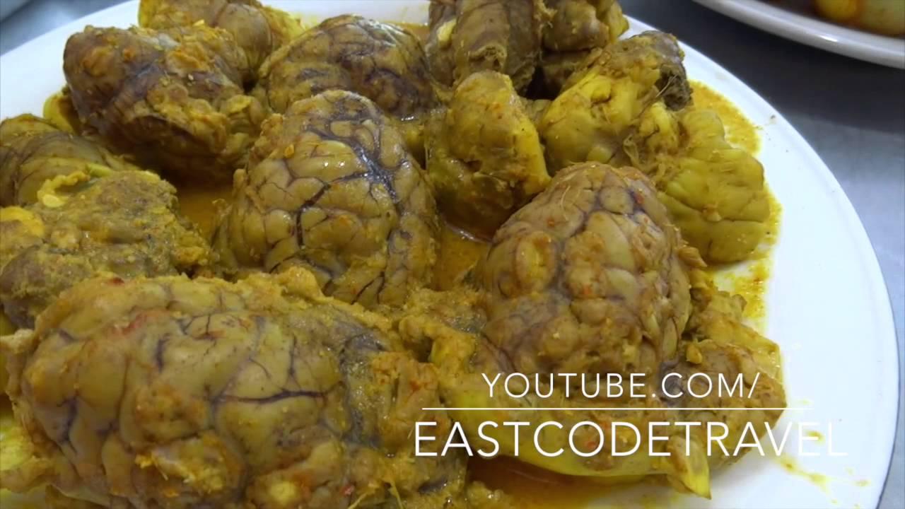 Gulai Otak Cow Brain Curry