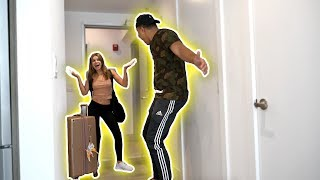 GIRLFRIEND SURPRISES ME AT CLOUT HOUSE *EMOTIONAL*