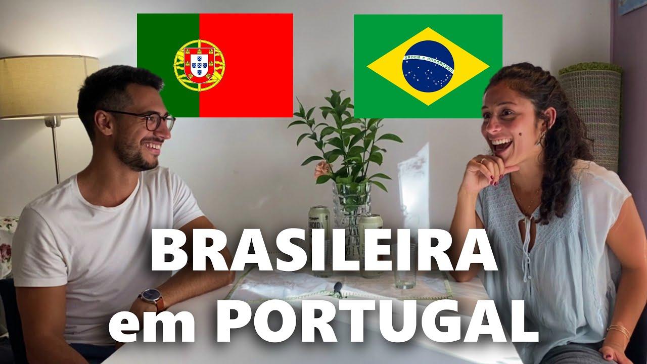 Uma brasileira que cresceu em Portugal e fala como portuguesa