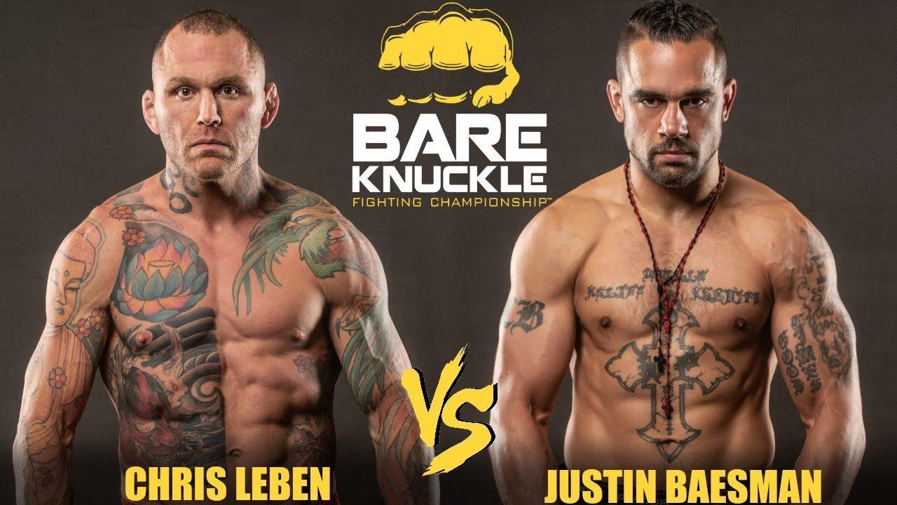 Полный бой: Крис Лебен - Джастин Баесман (BKFC 5)