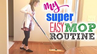 HOW TO MOP/CLEAN HARDWOOD FLOORS | MY MOPPING ROUTINE: NORWEX MOP SYSTEM DEMO | CLEANING WOOD FLOORS