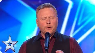 Jayson Stilwell puts unique spin on Disney song | Auditions | BGT 2019 thumbnail