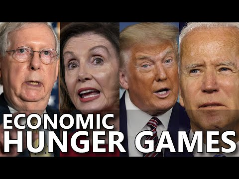 Economic Hunger Games: 3 Months Since Unemployed Had Federal Help-Steve Grumbine LIVE