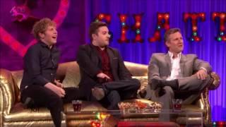 Adam Hills, Josh Widdicombe & Alex Brooker on Alan Carr Chatty Man (May 2015)