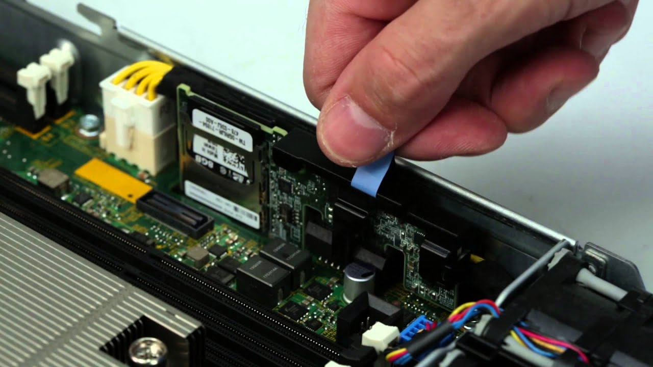 PowerEdge R430: Remove Install Internal Dual SD Module