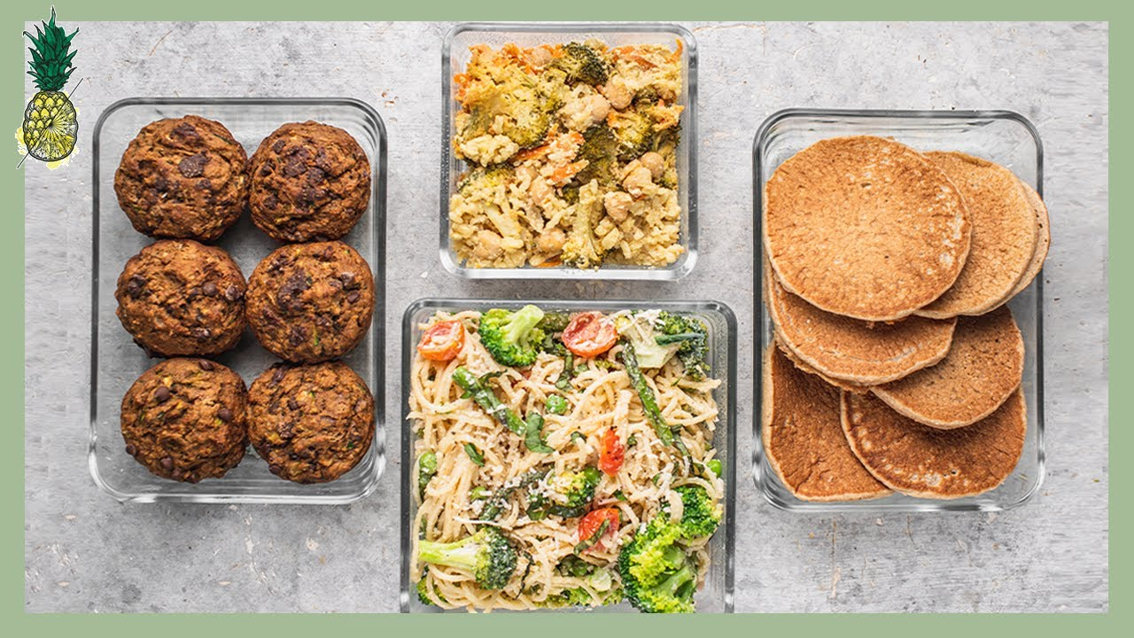 Easy Summer Vegan Meal Prep
