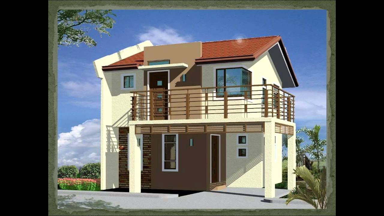 Balcony design for house
