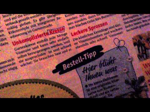 asmr ein bisschen deutsch lernen durch eine zeitschrift bl ttern und markieren youtube. Black Bedroom Furniture Sets. Home Design Ideas
