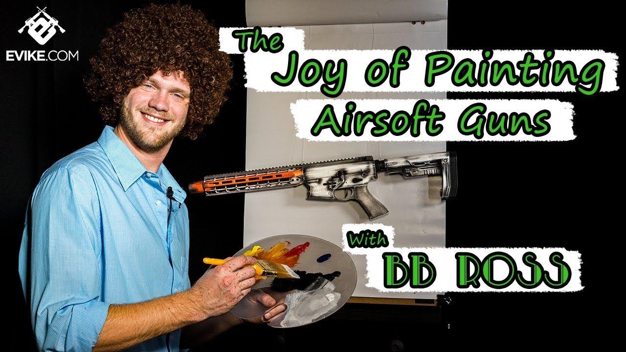 The Joy of Painting Airsoft with BB Ross - Evike com Custom Cerakotes