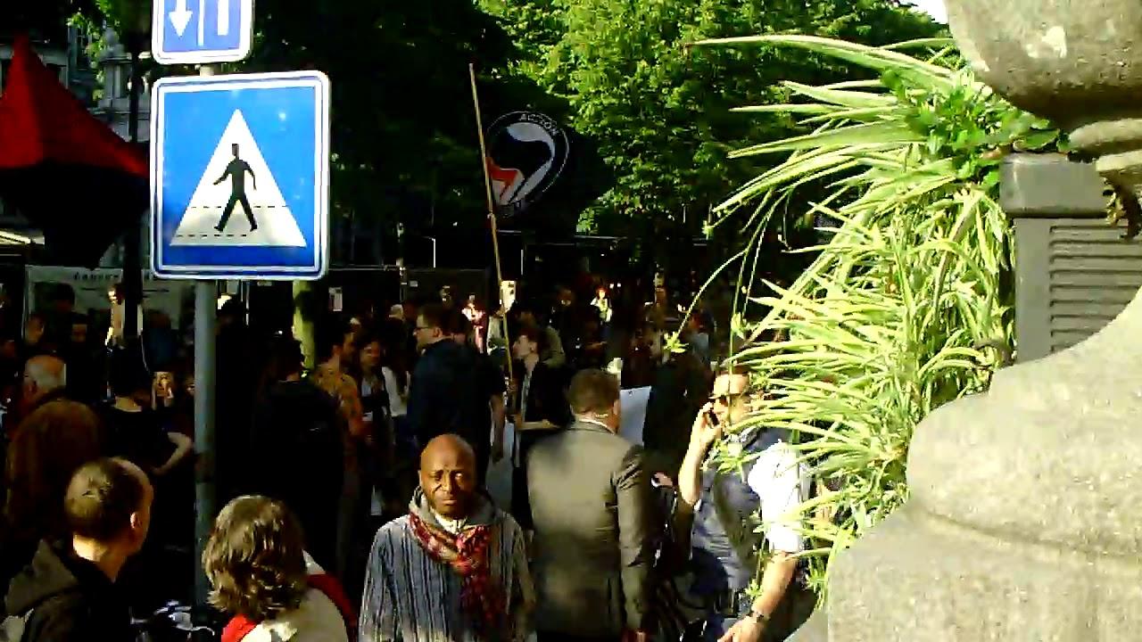 Rassemblement anti-fasciste 29 mai 2019 à Liège