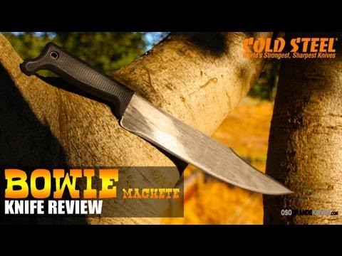 Cold Steel Bowie Machete 97BWM12S Review | OsoGrandeKnives