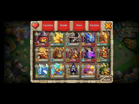 558.001 Strong Castle Clash Account For Sale (eBay)