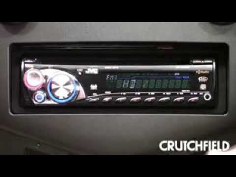 jvc kd ahd39 car stereo crutchfield video youtube rh youtube com JVC KD S17 Specifications JVC KD R200 Wire Diagram