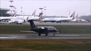 VP-BGM Canadair CL-600-2B16 Challenger 605 / Взлёт во Внуково (VKO/UUWW)