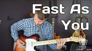 Fast As You by Dwight Yoakam - How To Play Guitar Lesson