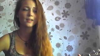 девушка поет и играет на гитаре ты ушел туда где небеса