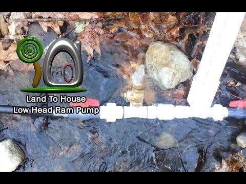 Low Head Hydraulic Ram Pump