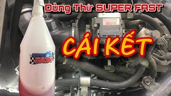 Thử Dùng SUPER FAST Dung Dịch Rửa Xe Siêu Sạch | Try Super FAST cleaning solution for super clean