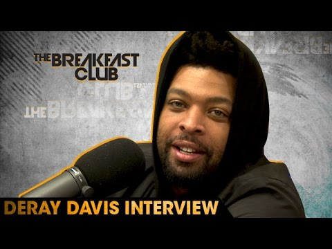 DeRay Davis Interview at The Breakfast Club Power 105.1 (05/31/2016)