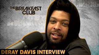 DeRay Davis Interview at The Breakfast Club Power 105.1 (05/31/2016)