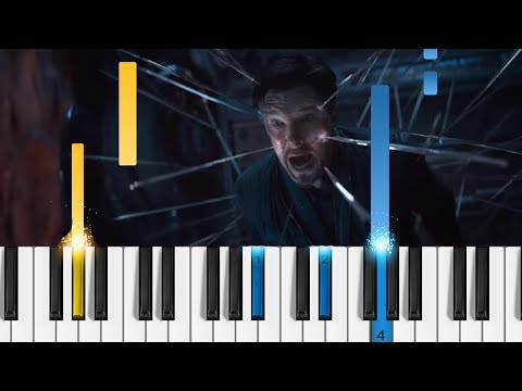 Marvel's Avengers: Infinity War - Official Trailer 2 - Piano Tutorial