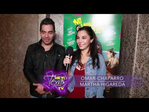 Interview with Omar Chaparro & Martha Higareda