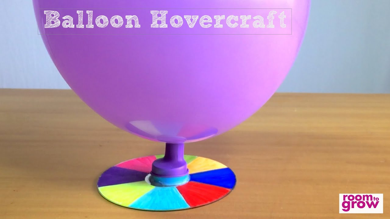 How To Make A Balloon Hovercraft