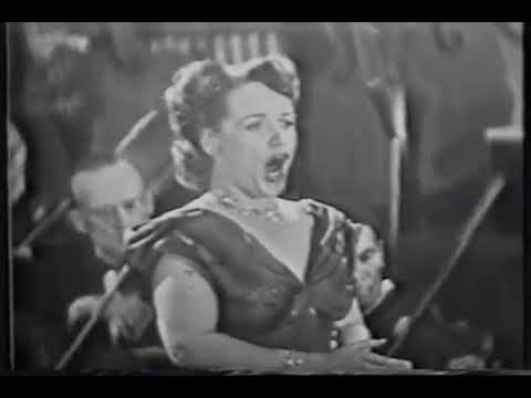 ELEANOR STEBER SINGS -  MORNING 1953  FIRESTONE KINESCOPE