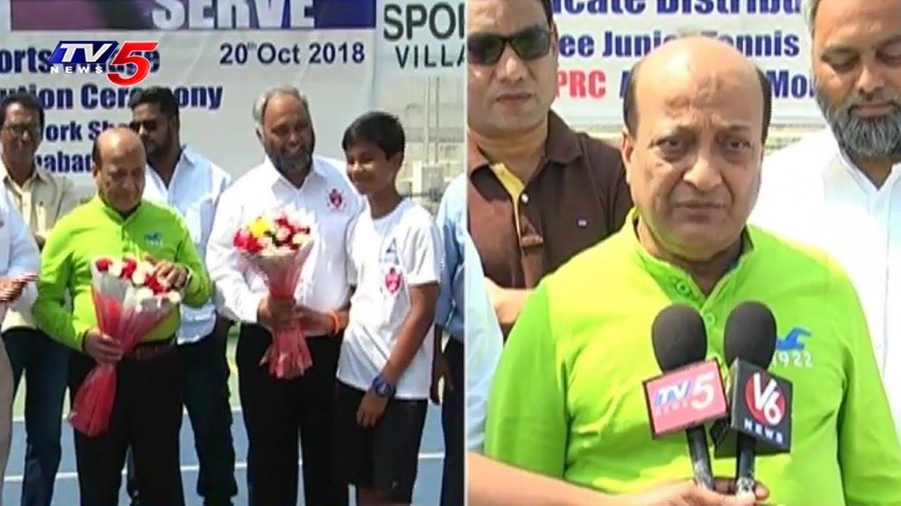 Sports Village Free Tennis Coaching Camp   Hyderabad   TV5 News
