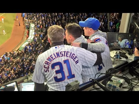 Chicago Fire's Schweinsteiger, McCarty and Conner Sing 7th-Inning Stretch at Wrigley Field
