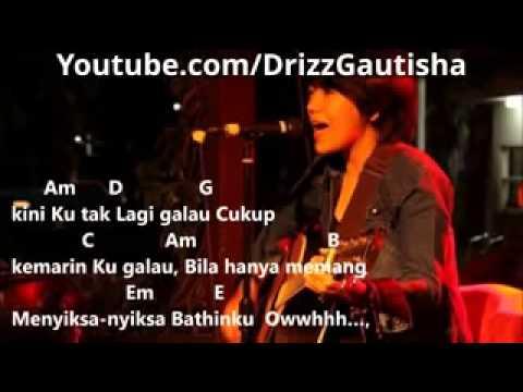 Riska Aprilia Indonesian Idol   Chord dan Lirik Tak Lagi Galau